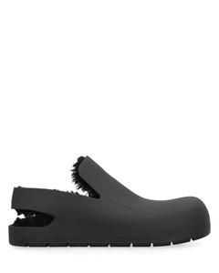 黑色Rim BB德比鞋