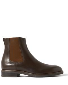 Zsp23 Apla纳帕革白色运动鞋