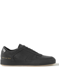 BBall Saffiano Leather and Nubuck Sneakers