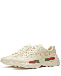Rhyton Gucci Print Sneaker