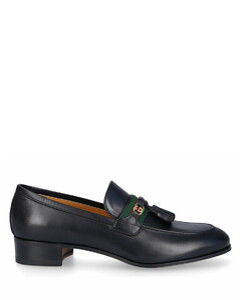 Loafers 1W610 calfskin Horsebit-Detail black