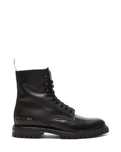 LEATHER WINTER COMBAT靴子