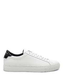 Leather Low Sneakers in White