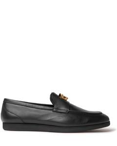 Men's Papaya Slide Sandals - Black