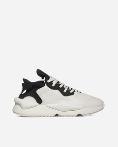 Kaiwa leather and fabric sneakers