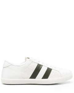 sneakers in fabric and leather
