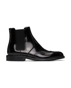 黑色Army切尔西靴