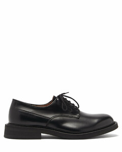 Panelled leather derby shoes