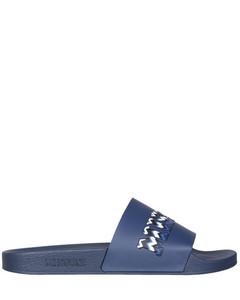 Garavani VLTN Open black leather sneakers
