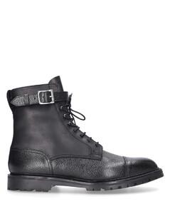 Lace-up boots ALDERSHOT Scotchgrain leather