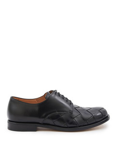Laceup leather shoes