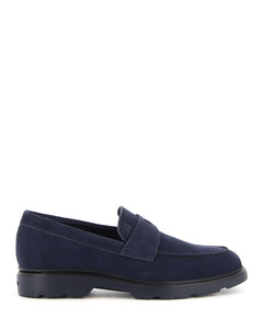 Suede H393 loafers