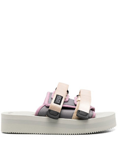 Suede leather lace-up sneakers