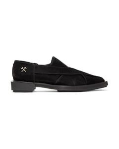 黑色Chappal乐福鞋