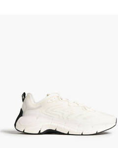 Wyatt croc-effect suede boots