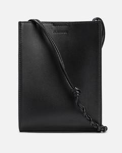 Cotton Messenger Bag With Contrasting Logo