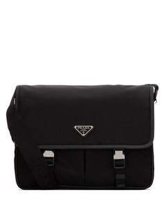 Logo Buckled Crossbody Bag