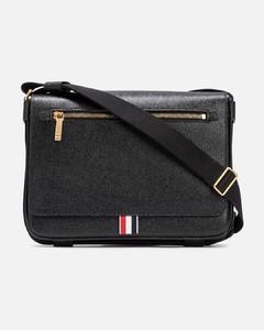 Medusa-hardware leather belt bag
