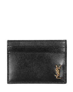 Woven Card Holder in Brown