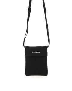CROSSBODY COTTON PHONE BAG WITH LOGO