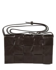 Weave Effect Shoulder Bag