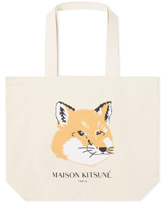 Fox Head Tote Bag