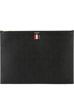 大号卵石纹拉链平板电脑包(39 x 28cm)