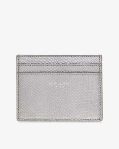 Mini-print canvas wash bag