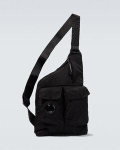 Eco-Nylon Card Holder in Black