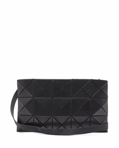 Lucent faux-leather cross-body bag