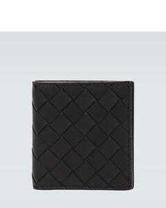 折叠皮革钱包