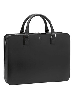 Slim leather document case