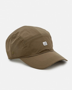 Curve coated-cotton cross-body bag