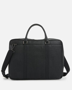Crocodile-effect leather belt bag