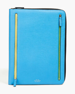 Travel Pouch In Satin Nylon with Logos
