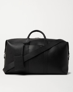Textured-Leather Holdall