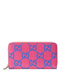 Valentino Garavani VLTN印花对折小牛皮钱包
