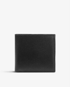 Magazine print clutch bag