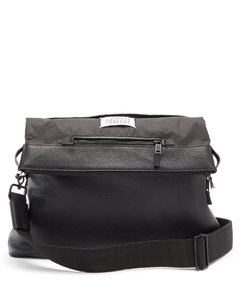 5AC grained-leather cross-body bag