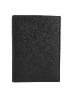 Intrecciato Leather Travel Wallet