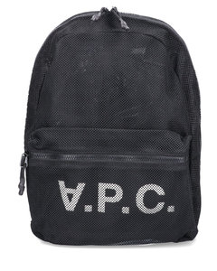 Cotton Canvas Backpack With Contrasting Logo Print