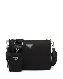 Cylinder mini cross-body bag