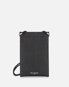 Grained-leather document holder