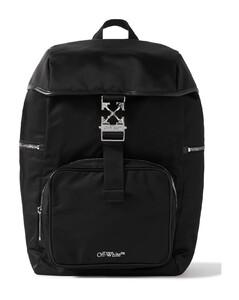 Urban logo-print canvas cross-body bag