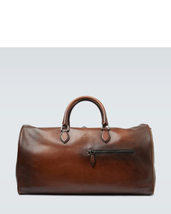 Jour Off large leather travel bag