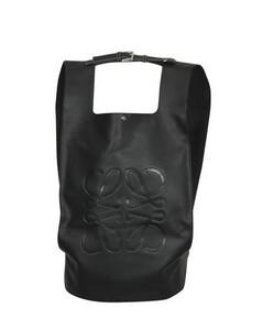 Shopper leather backpack