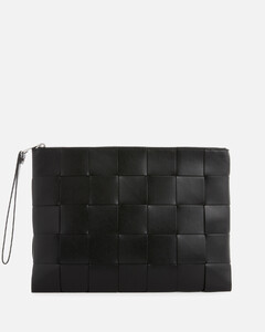 Baiadera-striped canvas tote bag