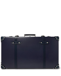 30 Leather-Trimmed Trolley Case''
