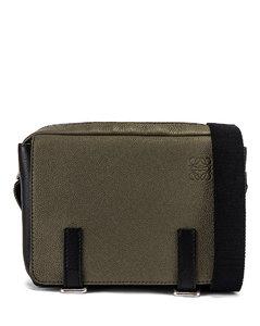 Military Messenger Bag in Green
