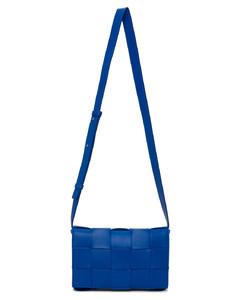 蓝色Cassette单肩包